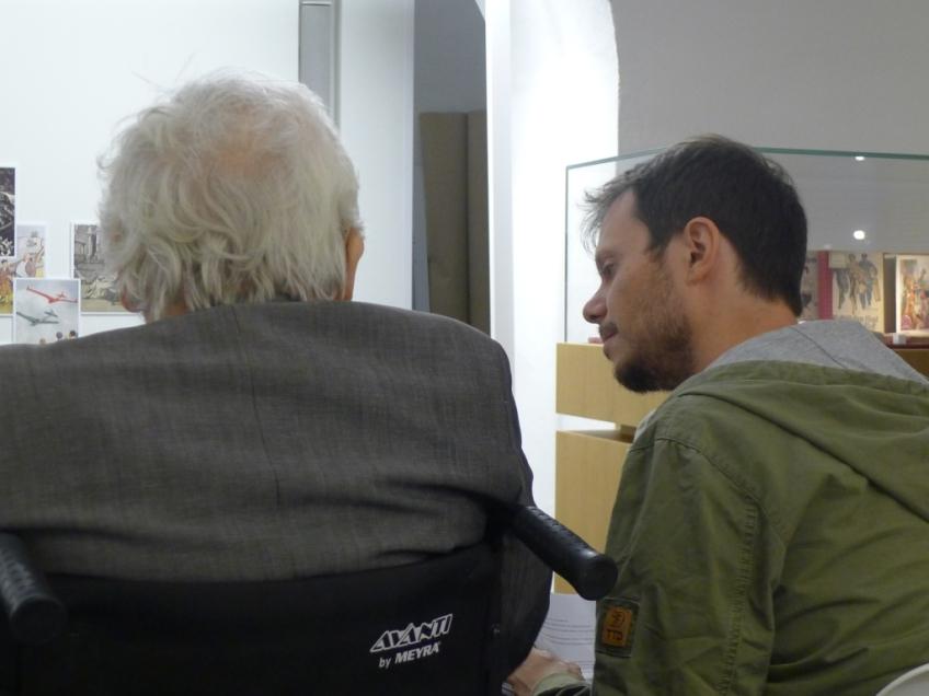 Alfred Kolleritsch Und Andreas Unterweger C Barbara Belic